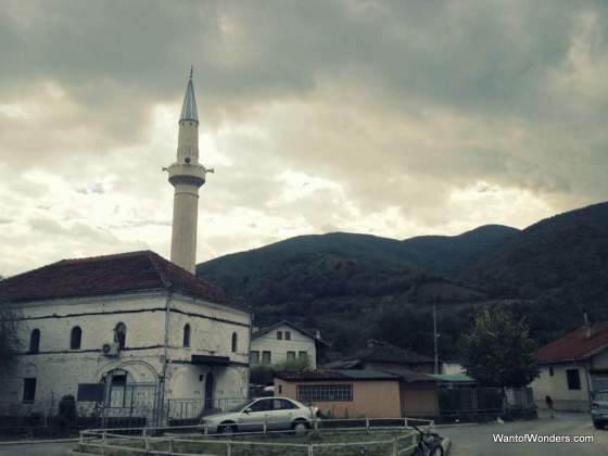 A mosque on the walk to the Patriarchate of the Serbian Orthodox Church