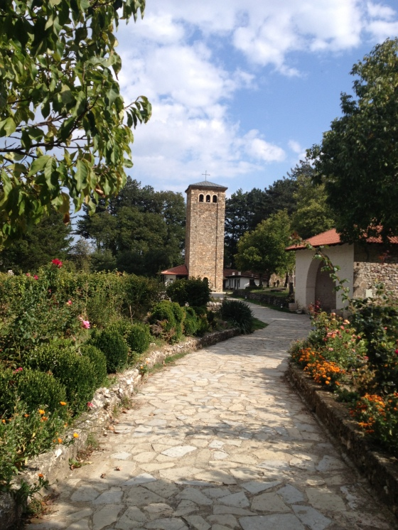 Grounds of Patriarchate of Serbian Orthodox Church in Peja