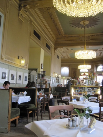 Grand interior of Cafe Westend
