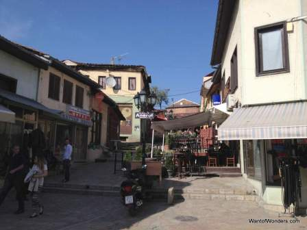 Cafes in Skopje's Bazaar area