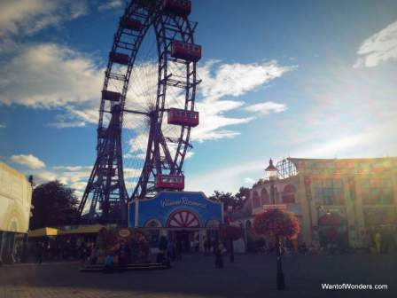 the Prater in Leopoldstadt