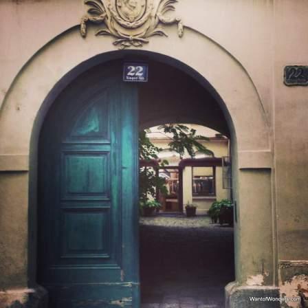 Viennese Door