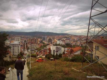 View of Pristina from Dragodan Hill