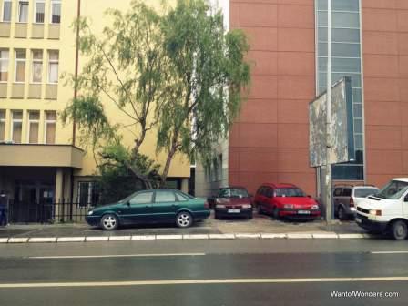 Pristina-style parking