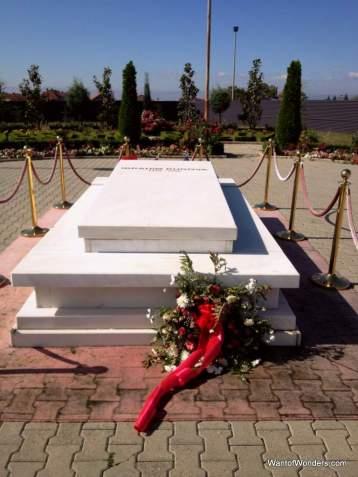 Grave of former President Ibrahim Rugova