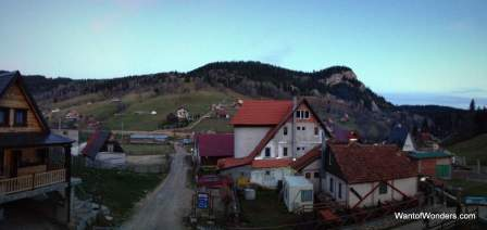 Skyline of Boge, the village we stayed in
