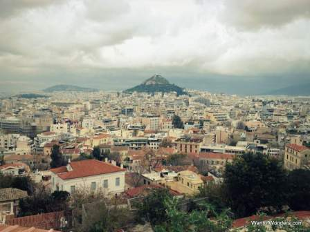 Overlooking Athens