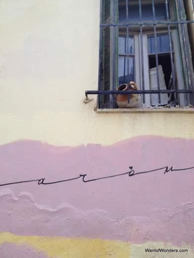 Graffiti in Anafiotika