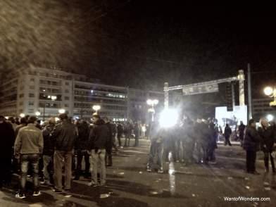 Golden Dawn Rally (Greece's Far Right Party)