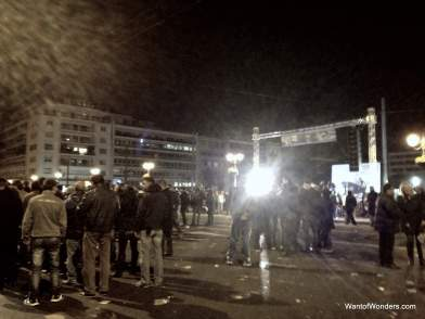 Golden Dawn Rally (Greece's Far Right Party)