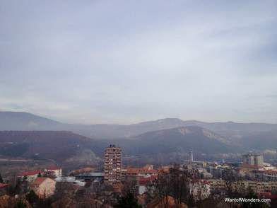 View of north Mitrovica