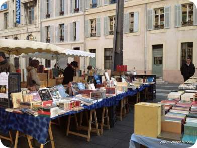 Booksellers near Vieux Port