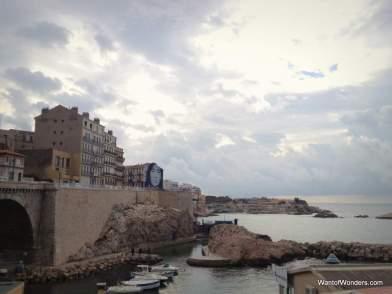 Vallon des Auffres area of Marseille