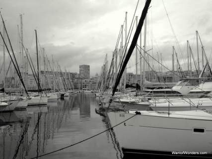 Ships in Vieux Port