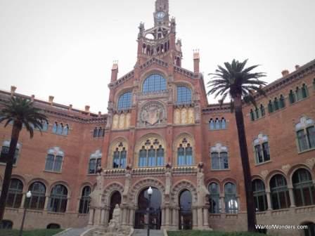 Gaudi's hospital