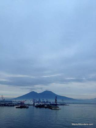 Mt. Vesuvius at Dawn