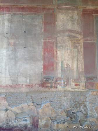 Fresco at Pompei