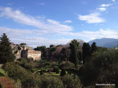 Last look at Pompei