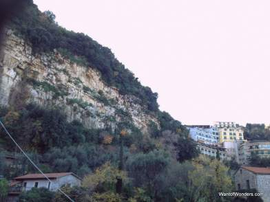 Sorrento's beautiful cliffs