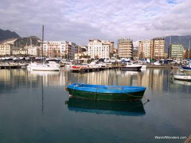 Salerno harbor