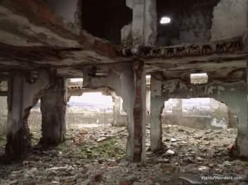 Abandoned buidldings in Gjakove