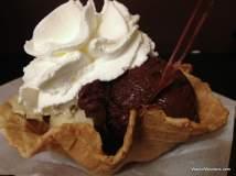 Rich gelato from Trastevere