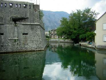 The outer edge of Old Kotor