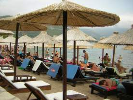 Beach time in Budva