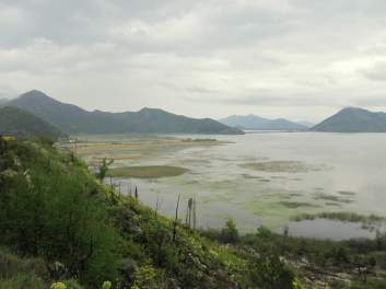 Lake Skadar from Virpazar
