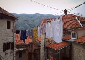 Laundry in Old Kotor