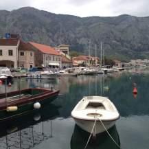 Boats in Kotor Bay