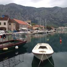 Boats in Kotor Bay